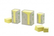 Post-It 76x76mm gul, 100blad/block, 6block/fp