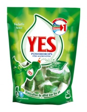 Yes Tabs Powerdrops, maskindisk, 45st/fp