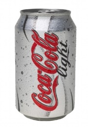 Coca Cola Light, 33cl burk, 24st/fp